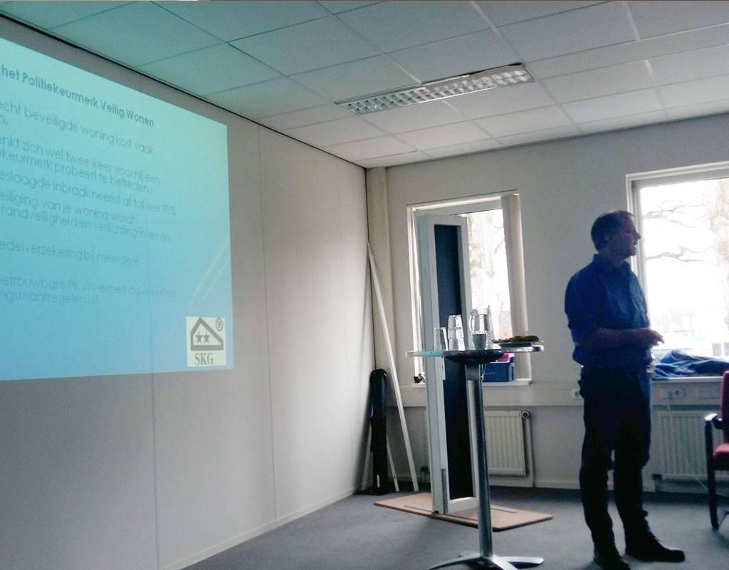 Presentatie van Carlus de Munnik